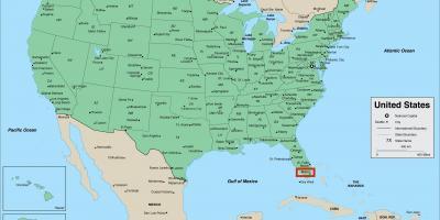Miami Mapa Estados Unidos.Miami Mapa Mapas De Miami Florida Usa